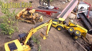 YouTube GOLD - MAN DOWN!! Rescue Mission at the GOLD MINE (s2 e24) | RC ADVENTURES