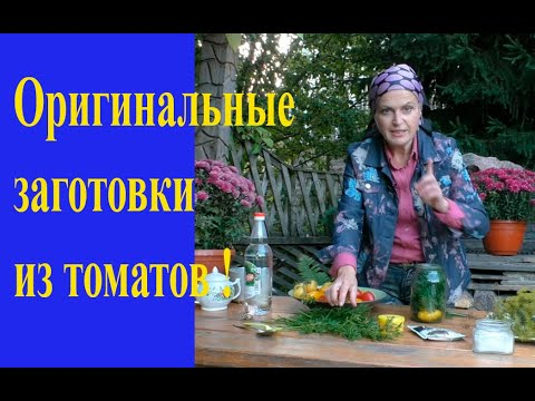 Рецепты необычных заготовок из томатов