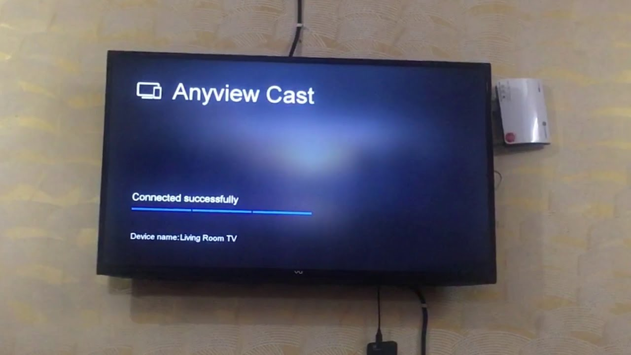How to Connect Phone to Vu SmartTV with Anyview Cast ( HINDI )