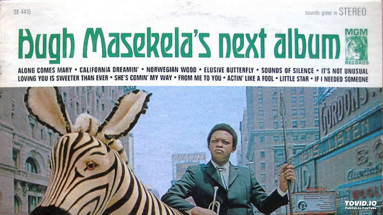 HUGH MASEKELA - CALIFORNIA DREAMIN