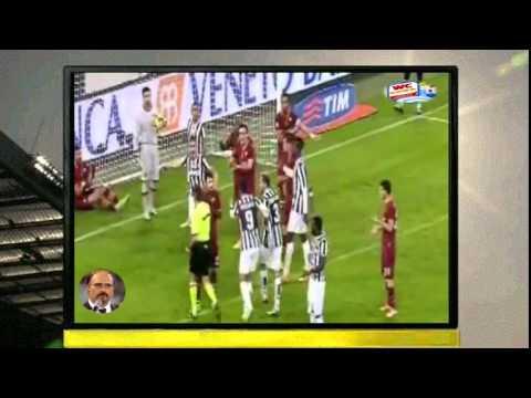Juve Roma 3-0 Carlo Zampa