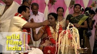 Traditional Kerala Hindu wedding