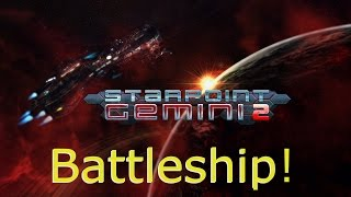 Starpoint Gemini 2 - Battleship Gameplay (PC HD) [1080p]