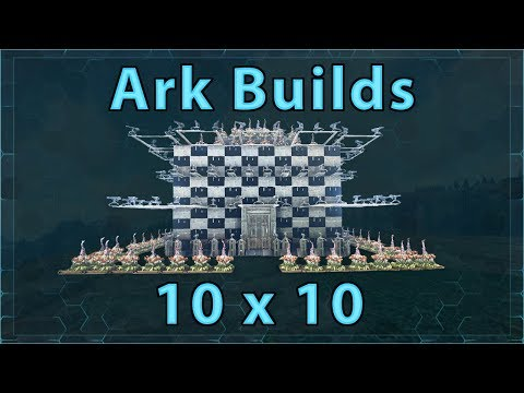 Ark Builds - 10x10 With Breeding Room