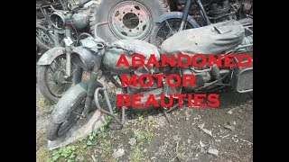 ABANDONED MOTORCYCLES AND JEEP IN INDIA , HIDDEN TREASURE HUNT