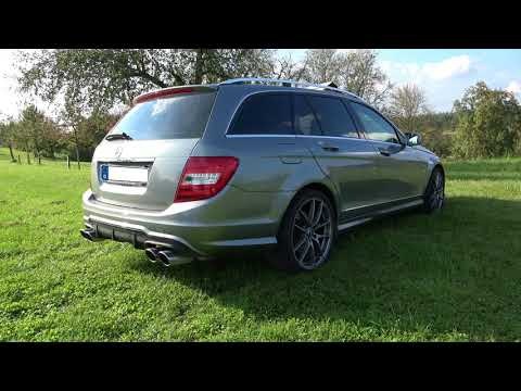 Mercedes C350 Sport Exhaust Sound Clip V6