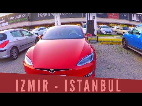 Yeni Tesla'mız ile İzmir'den İstanbul'a Yolculuk