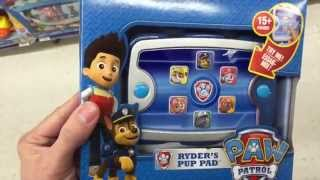 "Paw Patrol ""ryder's Pup Pad"" Talking Tablet Toy / Toy Review"