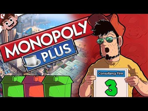 Tony's Expensive Green Meatballs   DUMB LUCK (╯°□°)╯(Monopoly Plus - Part 3)