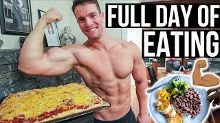 FULL DAY OF EATING ON A BULK | Handling Criticism | JON VENUS