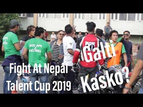 Fight At Nepal Talent Cup | Bike Race Nepal | 2019 || Race Day |||