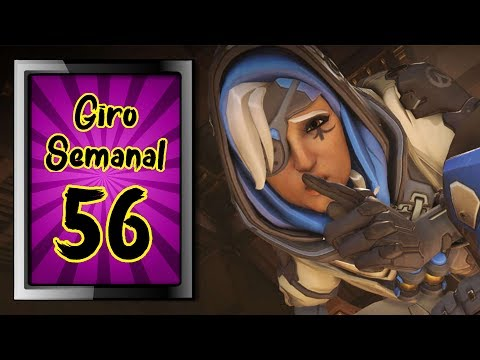 GIRO SEMANAL #56 - Sleep no modo Caos Total, HQ do Doomfist, camp amador, copa do mundo e mt mais!