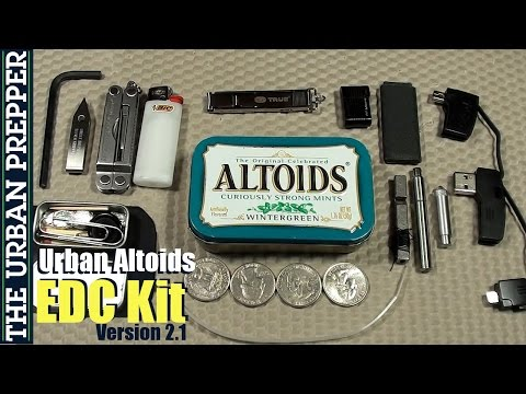 Urban Altoids EDC Tin (v2.1) By TheUrbanPrepper