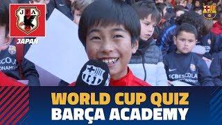 #BarçaWorldCup Quiz | Barça Academy players