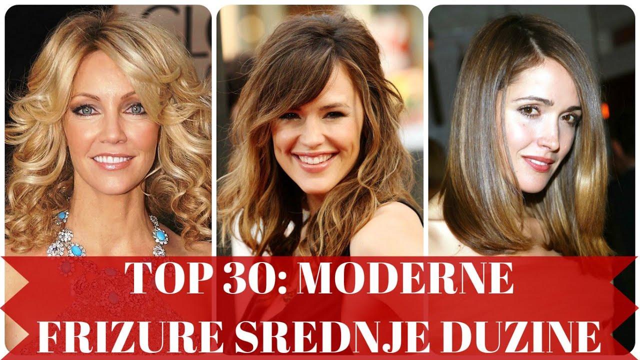 Top 30 Moderne Frizure Srednje Duzine Youtube