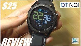 REVIEW: NO.1 DT28 HR Fitness Watch, Best $25 Smartwatch?
