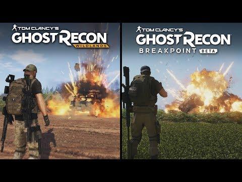 Ghost Recon: Breakpoint (BETA) vs Wildlands | Direct Comparison
