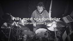 Sextondelfills med trumlärare Janne Jansson