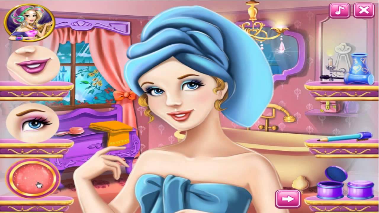 Cinderella Real Makeover - Cinderella Makeover-Dress Up ...
