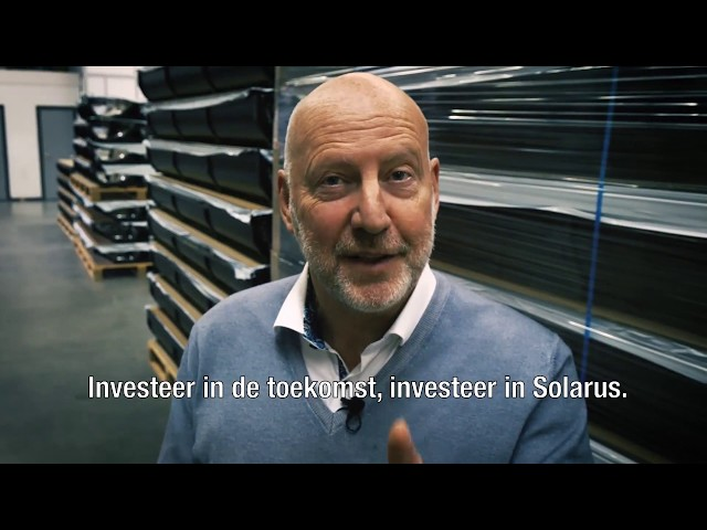 Invest in the future. Invest in Solarus