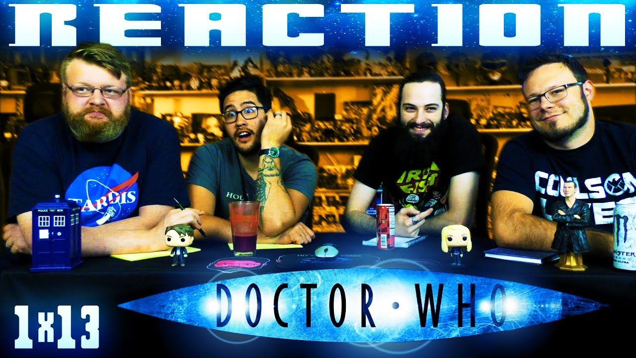 """Download Doctor Who 1x13 FINALE REACTION!! """"The Parting of the Ways"""""""