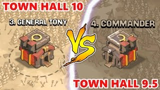 Clash Of Clans | TOWN HALL 9.5 vs TOWN HALL 10! | CLAN WAR ATTACK STRATEGY 3 STAR LIVE!?!