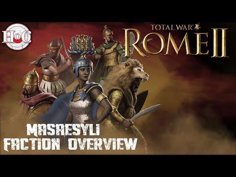 Total War Rome 2 - Desert Kingdoms DLC - Masaesyli Faction Overview