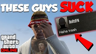 Top 8 MOST ANNOYING Types of Players in GTA Online...