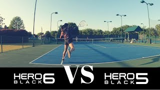 GOPRO HERO 6 VS HERO 5 - Image Stabilization / 4K / Slow Motion Test