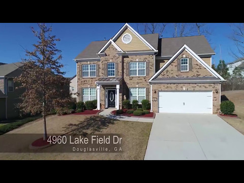 Houses For Rent-to-Own In Douglasville GA 5BR/4BA By Douglasville Property Management