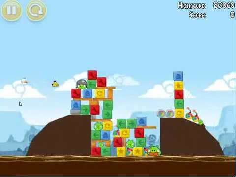Linux Games : Angry Birds