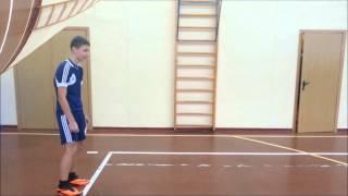 тест  прыжок в длину