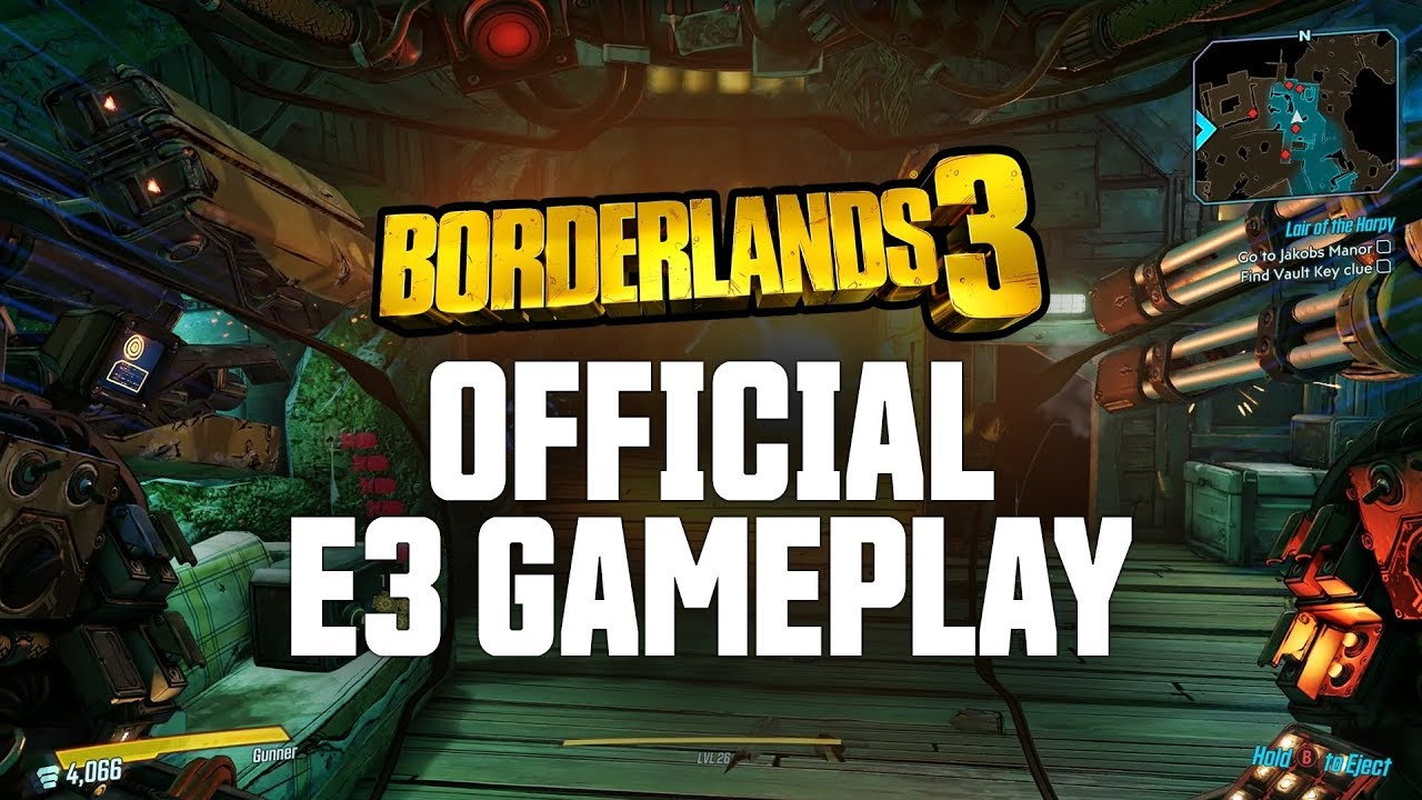 Borderlands 3 - Official E3 Gameplay Demo thumbnail