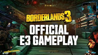 Borderlands 3 - Official E3 Gameplay Demo