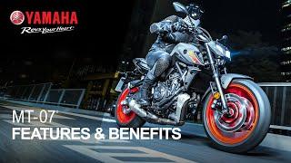 2021 Yamaha MT-07: Features & Benefits