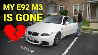 homepage tile video photo for Last Drive In My E92 M3
