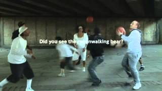 TFL Viral   Awareness Test Moonwalking Bear