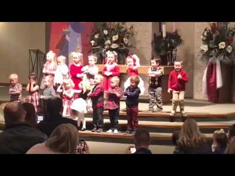 New Hope Preschool Christmas Program