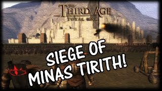 The Battle of Minas Tirith! (EPIC SIEGE) Third Age Total War!