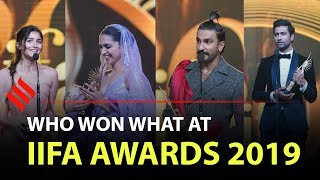 Who won what at IIFA Awards 2019 | Winners of IIFA 2019 | #IIFA20