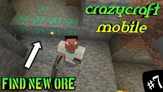 crazycraft mobile find new ore,minecraft,rlcraft,skincraft,blackclue gaming,joking point