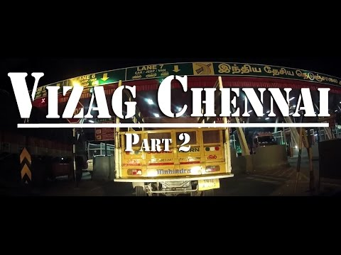 Part 2 | Vizag - Chennai by road | Skoda Octavia | Long Drive | Travel Lapse | SJ5000+