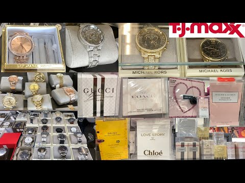 TJ Maxx Designer Watches & Perfumes Deals ~ Gift Sets Shop With Me 2019