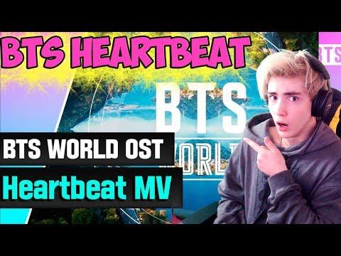 BTS (방탄소년단) 'Heartbeat (BTS WORLD OST)' MV Реакция   BTS   Реакция на BTS Heartbeat