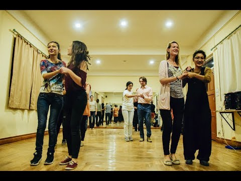Lindy Hop classes at Kathmandu Jazz Conservatory