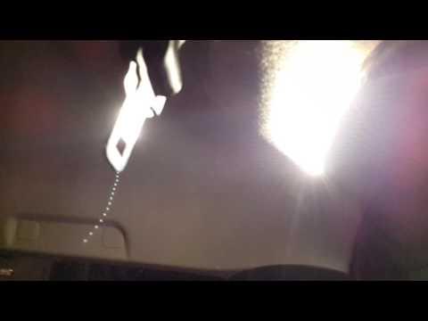 Лада Ларгус: Led свет в багажнике