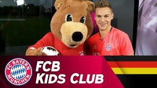 Joshua Kimmich übernimmt neue Aufgabe | FCB KidsClub