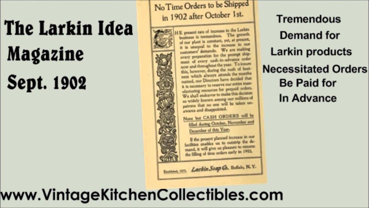 vintage kitchen collectibles presents larkin soap company larkin vintage kitchen collectibles presents larkin soap company larkin idea club magazine 1902
