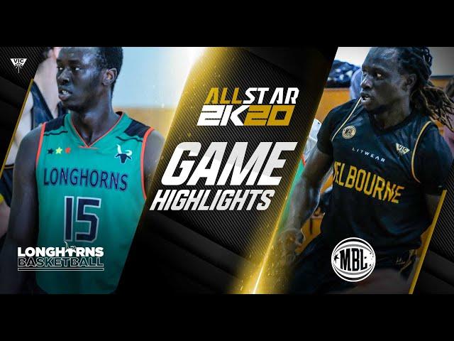 MBL 2K20 AllStar Game - Longhorns VS MBL AllStars - March 21, 2021