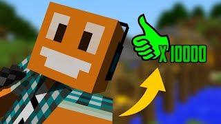 "Minecraft #316 -  ""Lajki challenge!"""